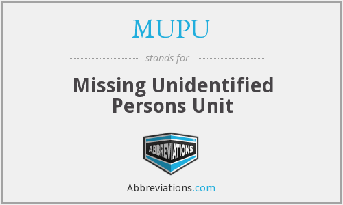 What does MUPU stand for?