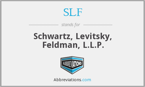 SLF - Schwartz, Levitsky, Feldman, L.L.P.