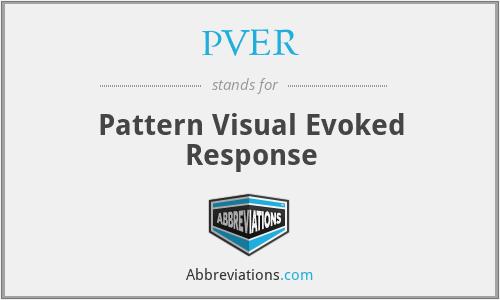 PVER - Pattern Visual Evoked Response