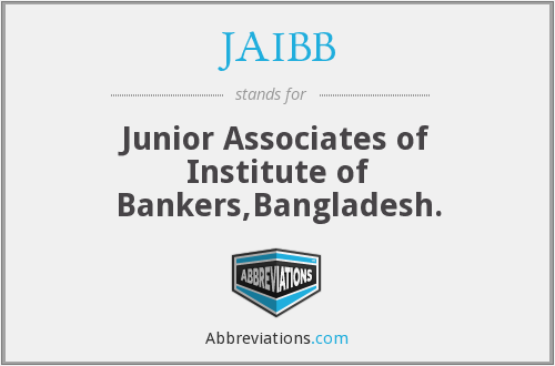 What does JAIBB stand for?
