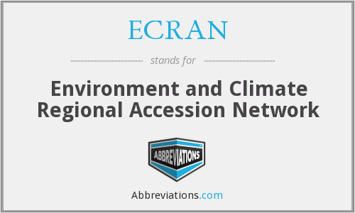 ECRAN - Environment and Climate Regional Accession Network