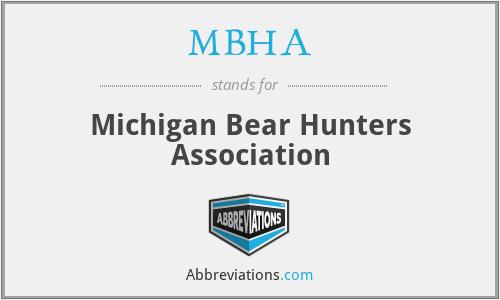 MBHA - Michigan Bear Hunters Association