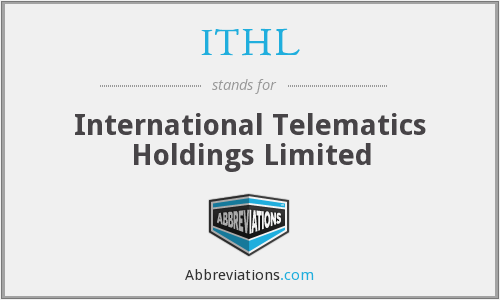 ITHL - International Telematics Holdings Limited