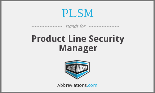 What does PLSM stand for?