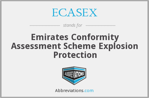 What does ECASEX stand for?