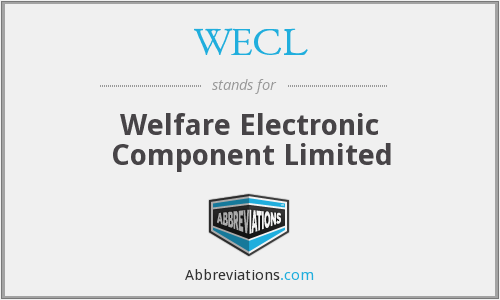 What does WECL stand for?