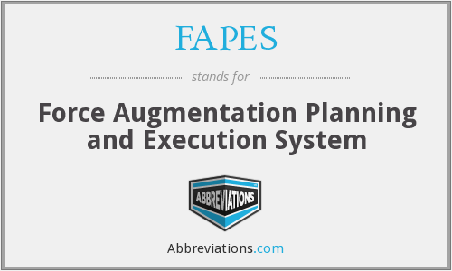 What does FAPES stand for?