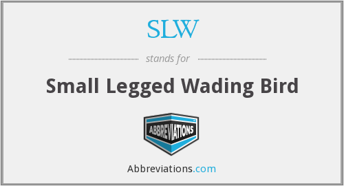 What does wading stand for?