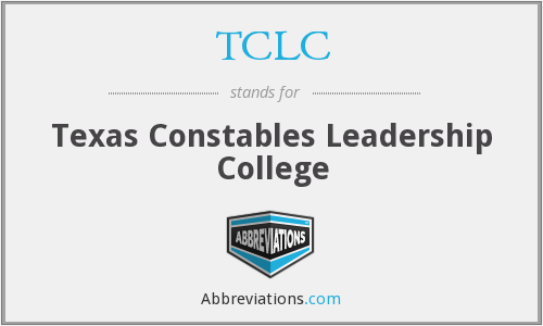 What does TCLC stand for?