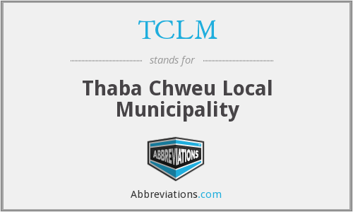 What does TCLM stand for?