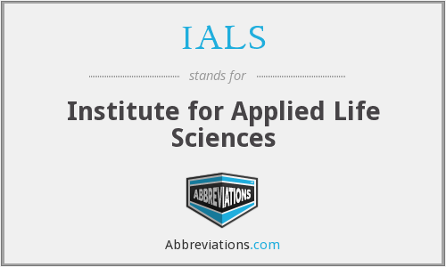 IALS - Institute for Applied Life Sciences