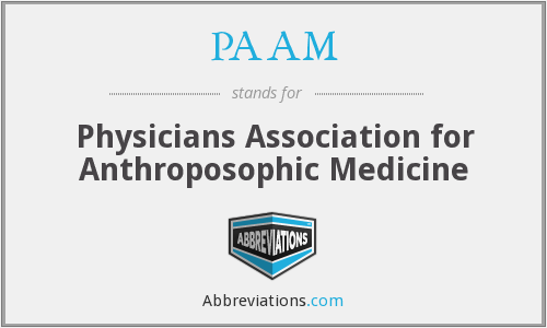PAAM - Physicians Association for Anthroposophic Medicine