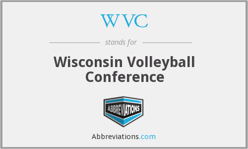 WVC - Wisconsin Volleyball Conference