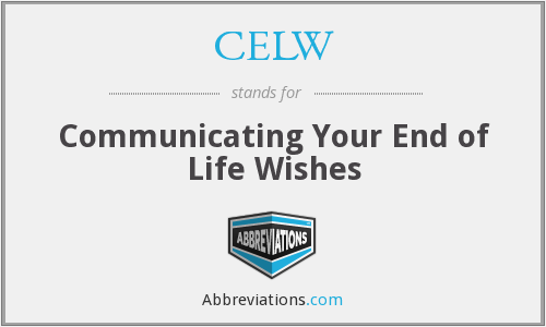What does CELW stand for?