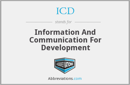 ICD - Information And Communication For Development