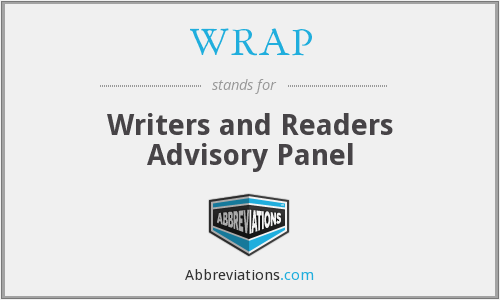 WRAP - Writers and Readers Advisory Panel
