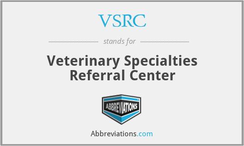 VSRC - Veterinary Specialties Referral Center