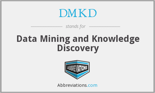 What does DMKD stand for?