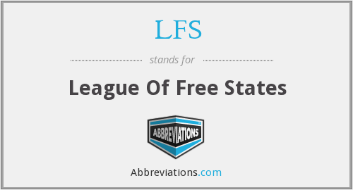 LFS - League Of Free States