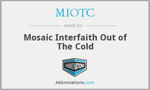 MIOTC - Mosaic Interfaith Out of The Cold