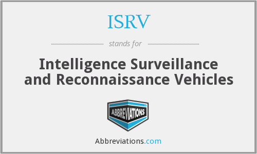 What does ISRV stand for?