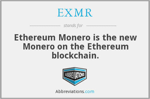 What does EXMR stand for?