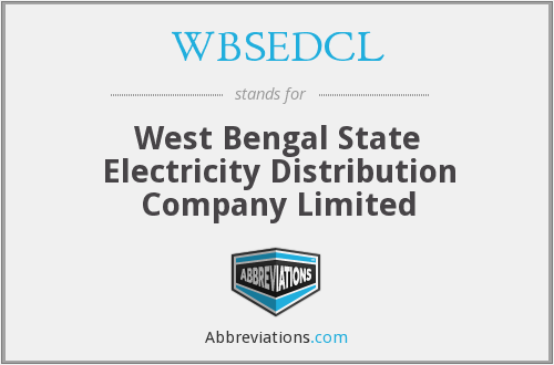 What does WBSEDCL stand for?