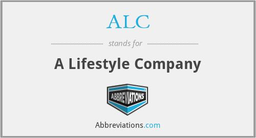 ALC - A Lifestyle Company