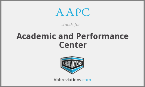 AAPC - Academic and Performance Center