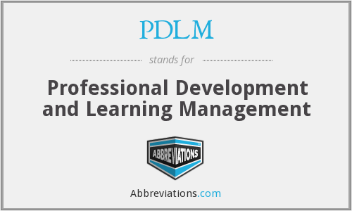 What does PDLM stand for?