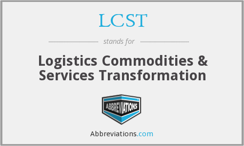 What does LCST stand for?