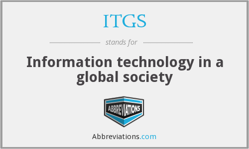 What does ITGS stand for?