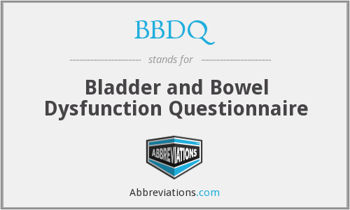What does BBDQ stand for?
