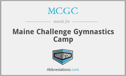 MCGC - Maine Challenge Gymnastics Camp
