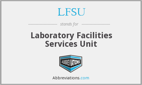 What does LFSU stand for?