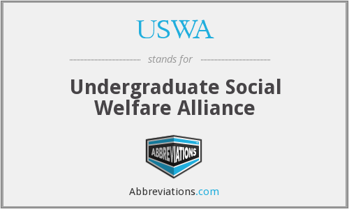 USWA - Undergraduate Social Welfare Alliance