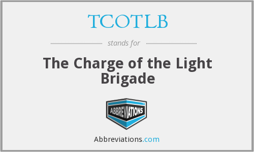 TCOTLB - The Charge of the Light Brigade