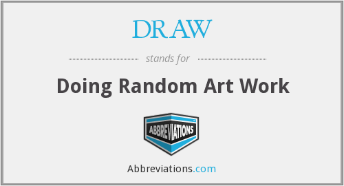 What does DRAW stand for?