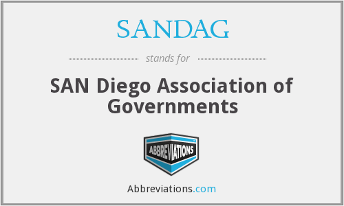 SANDAG - SAN Diego Association of Governments