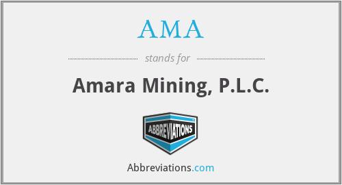 AMA - Amara Mining, P.L.C.