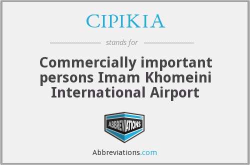 What does CIPIKIA stand for?