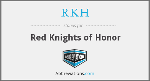 RKH - Red Knights of Honor