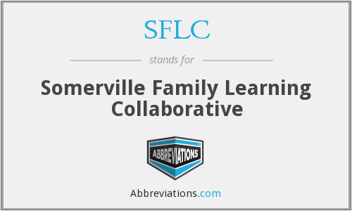 SFLC - Somerville Family Learning Collaborative