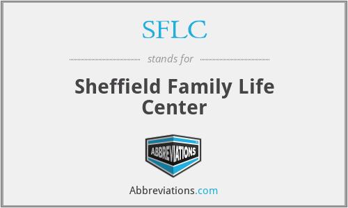 SFLC - Sheffield Family Life Center