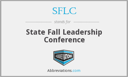 SFLC - State Fall Leadership Conference