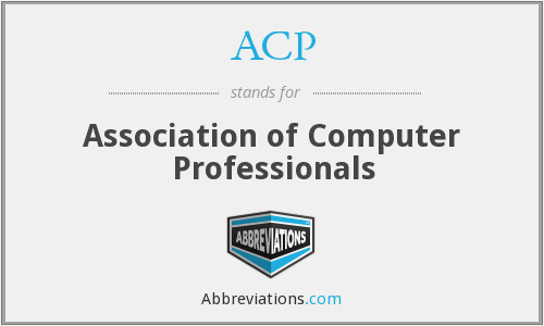 ACP - Association of Computer Professionals