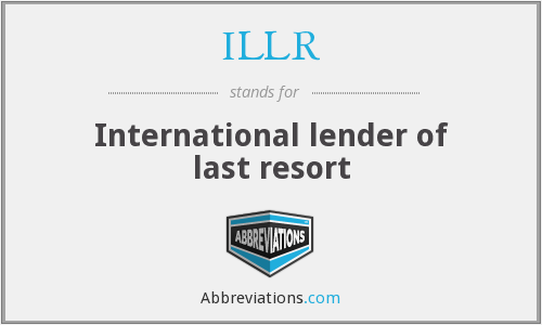What does ILLR stand for?