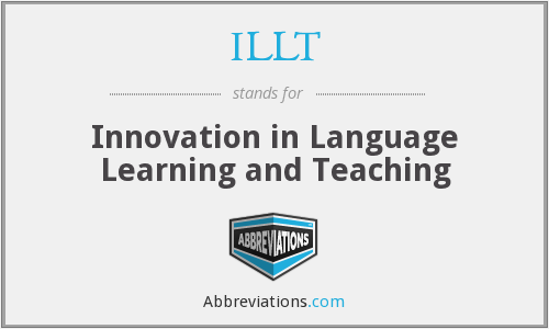 What does ILLT stand for?