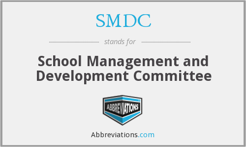 SMDC - School Management and Development Committee