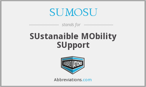 What does SUMOSU stand for?